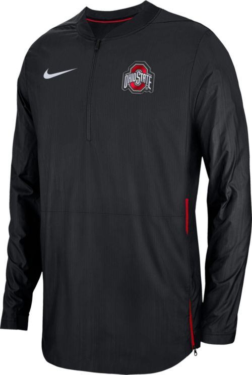 Nike Men s Ohio State Buckeyes Lockdown Football Quarter-Zip Black Jacket.  noImageFound. Previous 541255061