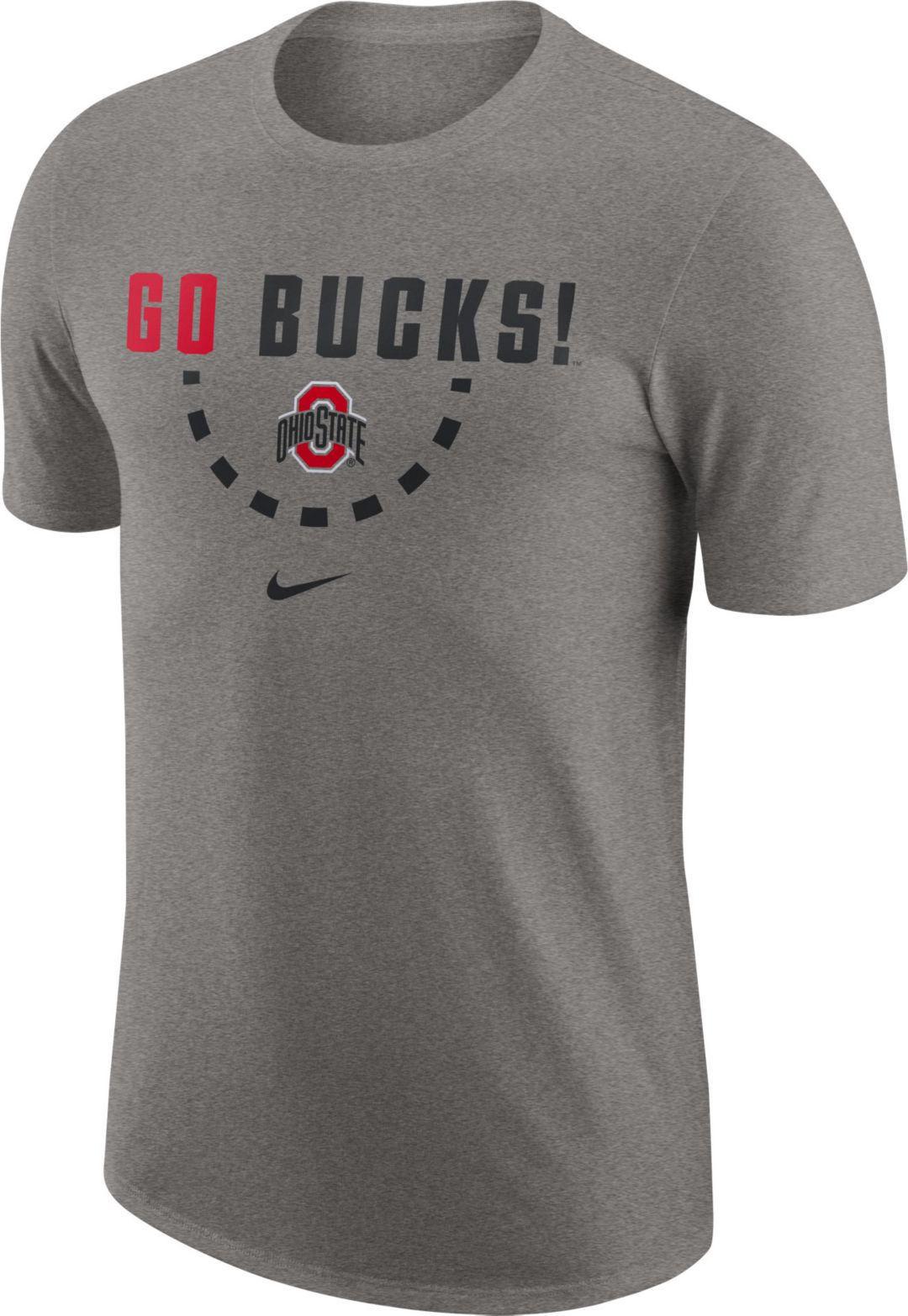 0641aaad Nike Men's Ohio State Buckeyes Gray Mantra Basketball T-Shirt.  noImageFound. Previous