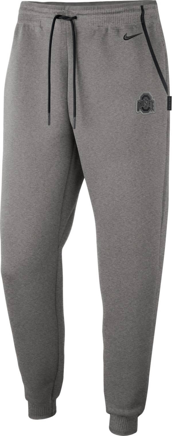 Nike Men's Ohio State Buckeyes Gray Dri-FIT Football Sideline Repel Pants product image