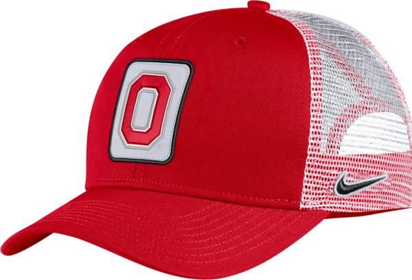 Nike Men's Ohio State Buckeyes Scarlet Classic99 Trucker Hat product image