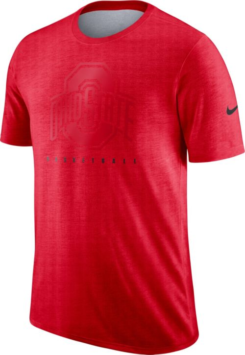 Nike Men s Ohio State Buckeyes Scarlet Player Dri-FIT Basketball T ... f62af45b6