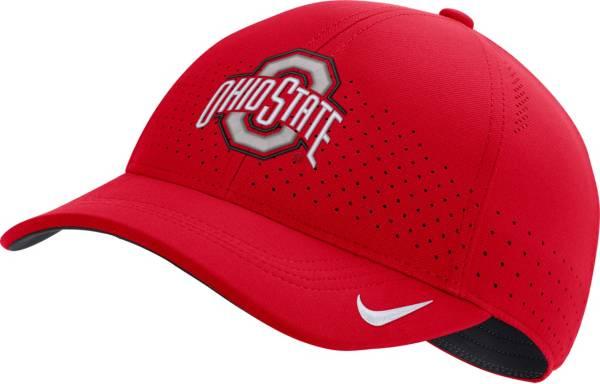 Nike Men's Ohio State Buckeyes Scarlet Legacy91 Adjustable Hat product image