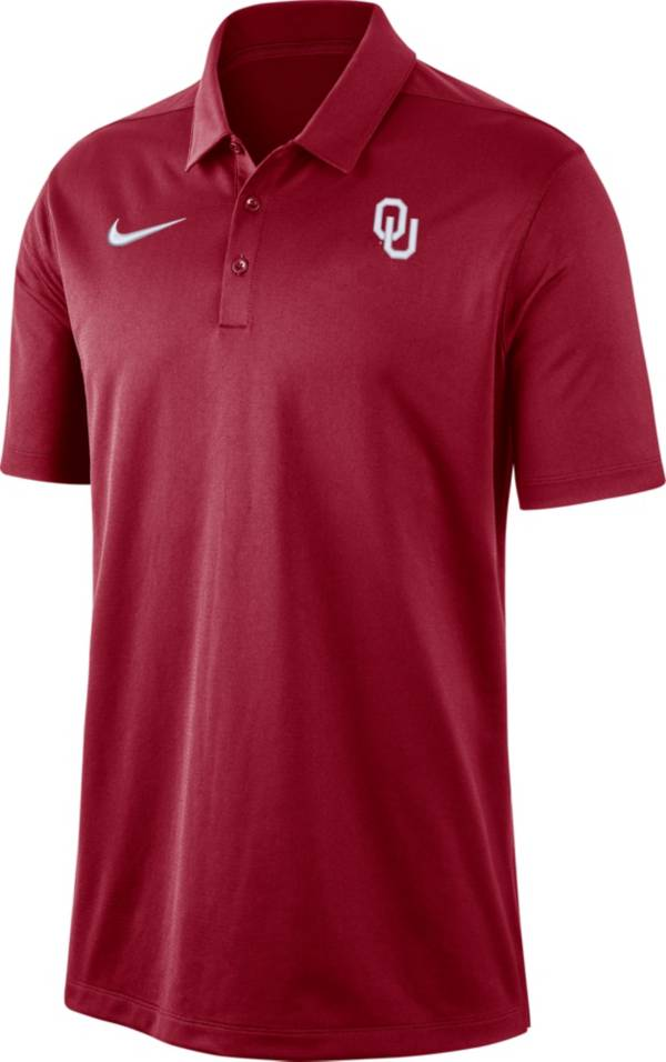 Nike Men's Oklahoma Sooners Crimson Dri-FIT Franchise Polo product image