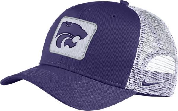 Nike Men's Kansas State Wildcats Purple Classic99 Trucker Hat product image