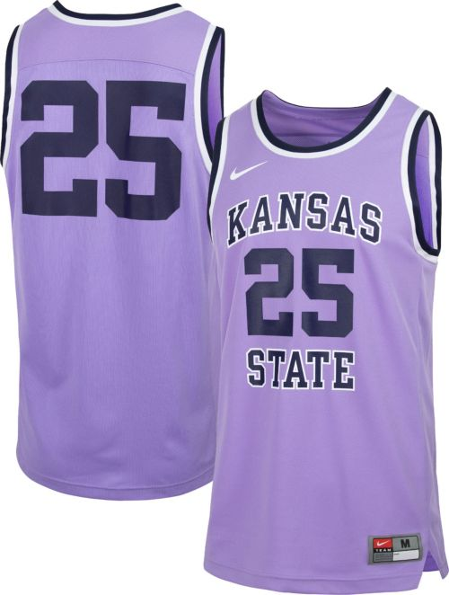 Nike Men s Kansas State Wildcats  25 Lavender Retro Replica Basketball  Jersey. noImageFound. Previous 759b0ddc5