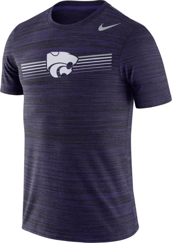 Nike Men's Kansas State Wildcats Purple Velocity Legend Graphic T-Shirt product image