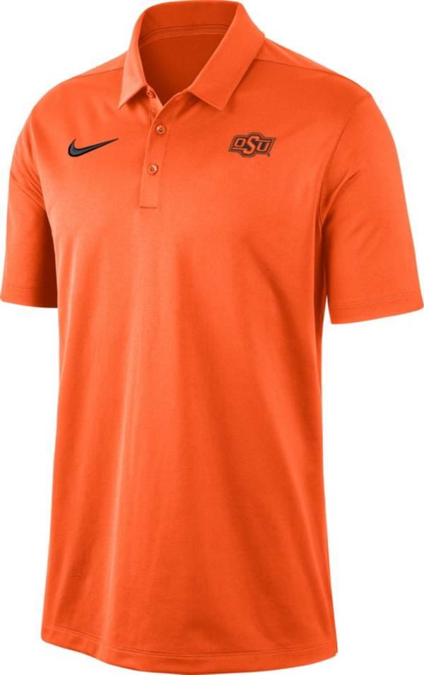 Nike Men's Oklahoma State Cowboys Orange Dri-FIT Franchise Polo product image