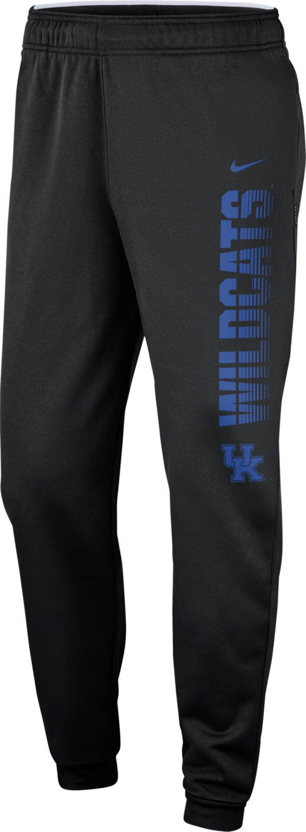 Nike Men's Kentucky Wildcats Therma Tapered Black Pants product image