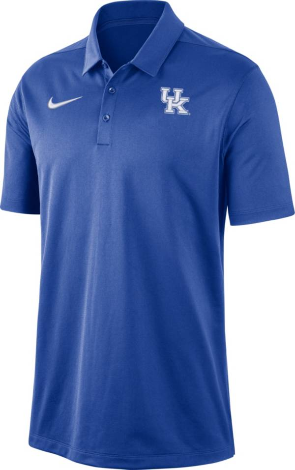 Nike Men's Kentucky Wildcats Blue Dri-FIT Franchise Polo product image