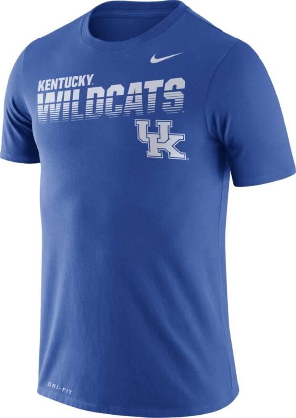 Nike Men's Kentucky Wildcats Blue Legend Football Sideline T-Shirt product image