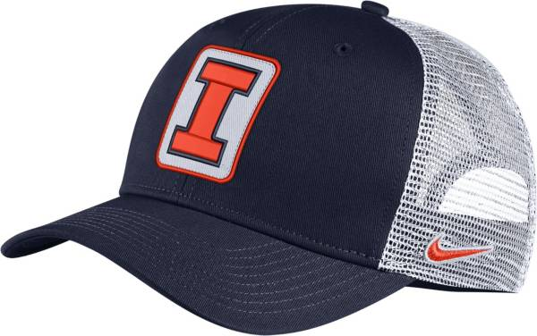Nike Men's Illinois Fighting Illini Blue Classic99 Trucker Hat product image