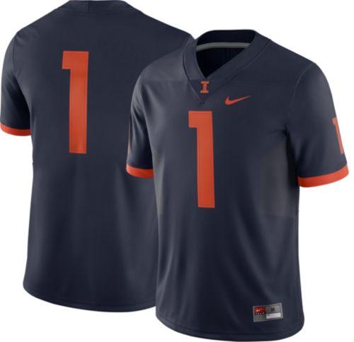 Nike Men s Illinois Fighting Illini  1 Blue Game Football Jersey.  noImageFound. Previous. 1 8827c47e5