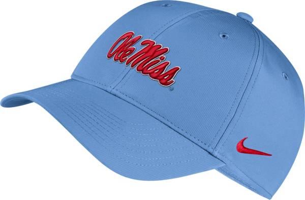 Nike Men's Ole Miss Rebels Blue Legacy91 Adjustable Hat product image