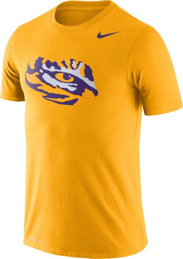 Nike Men's LSU Tigers Gold Legend Logo T-Shirt product image