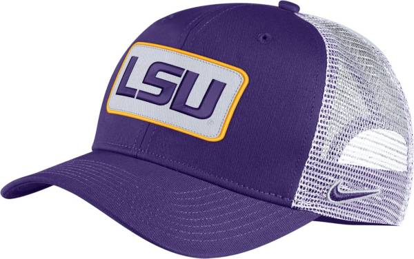 Nike Men's LSU Tigers Purple Classic99 Trucker Hat product image