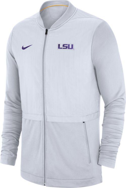 Nike Men s Oregon Ducks Grey Elite Hybrid Football Full-Zip Jacket.  noImageFound. Previous ad52d23a8