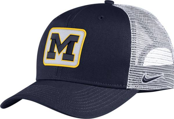 Nike Men's Michigan Wolverines Blue Classic99 Trucker Hat product image