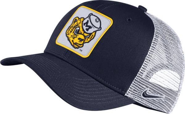 Nike Men's Michigan Wolverines Blue Retro Classic99 Trucker Hat product image