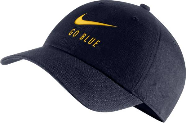 Nike Men's Michigan Wolverines Blue Heritage86 Adjustable Hat product image