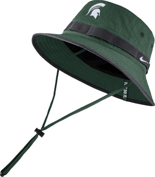 new product bebd9 7c4fa Nike Men s Michigan State Spartans Green Dri-FIT Sideline Bucket Hat.  noImageFound. Previous