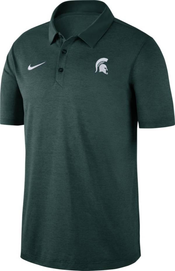 Nike Men's Michigan State Spartans Green Dri-FIT Breathe Polo product image