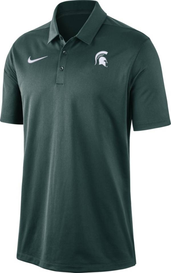 Nike Men's Michigan State Spartans Green Dri-FIT Franchise Polo product image