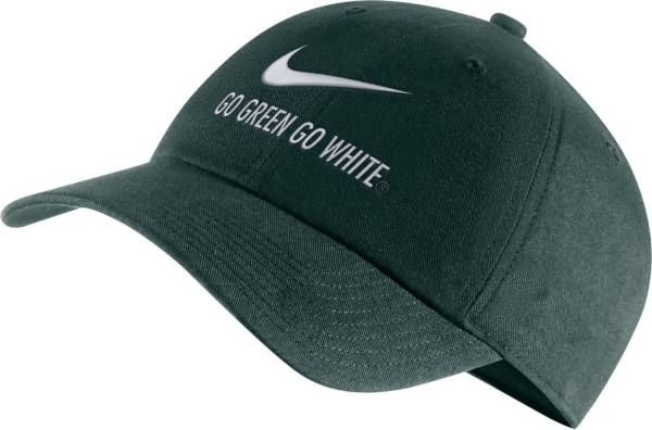 Nike Men's Michigan State Spartans Green Heritage86 Adjustable Hat product image