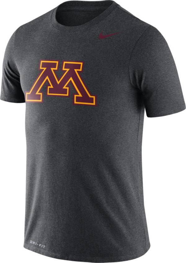 Nike Men's Minnesota Golden Gophers Grey Logo Dry Legend T-Shirt product image