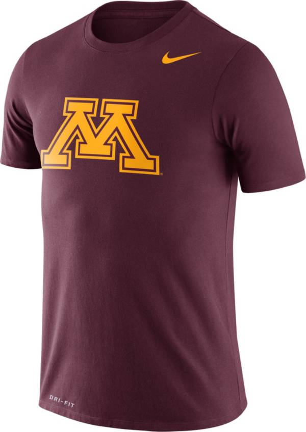 Nike Men's Minnesota Golden Gophers Maroon Logo Dry Legend T-Shirt product image