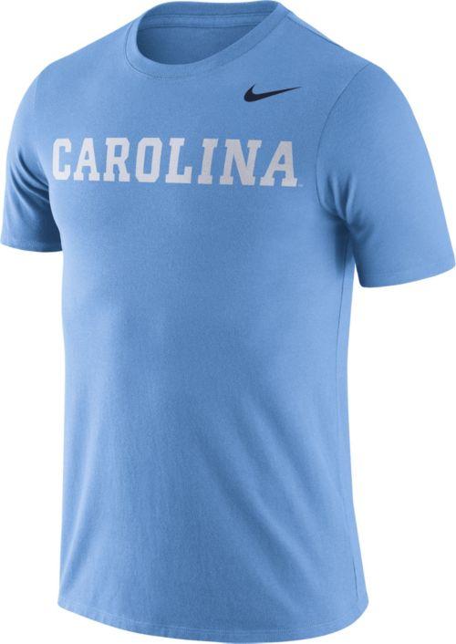 b9e2537d0 Nike Men's North Carolina Tar Heels Carolina Blue Dri-FIT Cotton Word  T-Shirt. noImageFound. Previous
