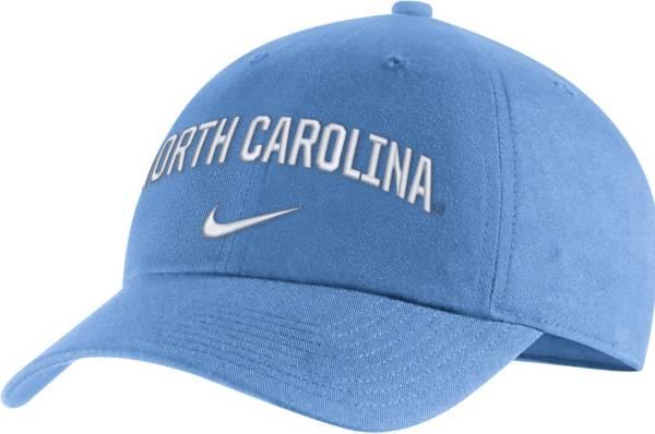Nike Men's North Carolina Tar Heels Carolina Blue Heritage86 Arch Wordmark Hat product image