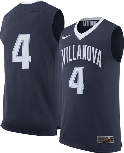 7f562a254 Nike Men s Villanova Wildcats Navy  4 Replica Basketball Jersey.  noImageFound. Previous