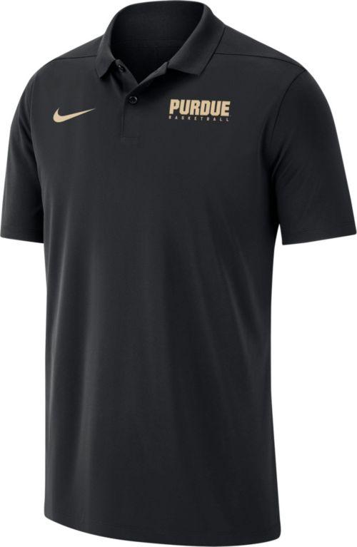 e918c6836e3 Nike Men s Purdue Boilermakers Victory Basketball Black Polo. noImageFound.  Previous