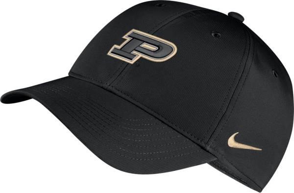 Nike Men's Purdue Boilermakers Legacy91 Adjustable Black Hat product image
