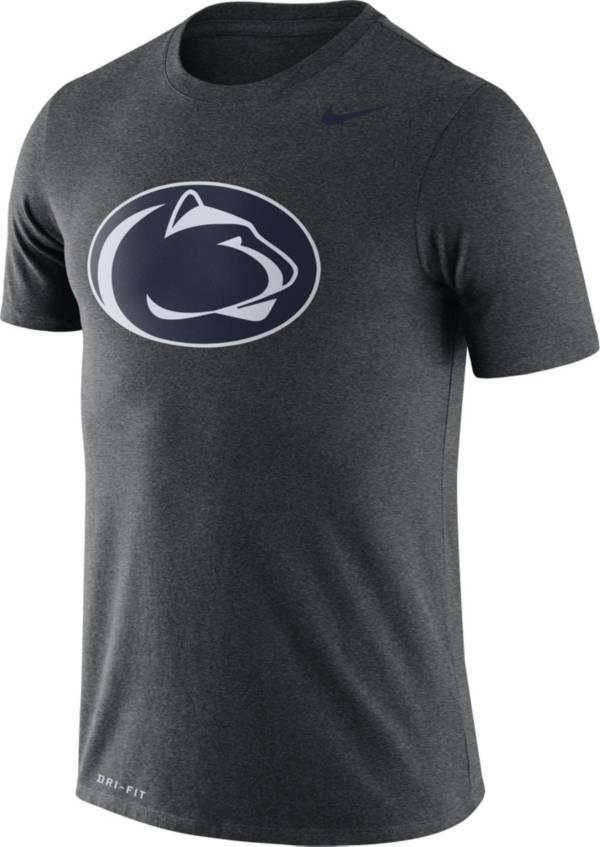 Nike Men's Penn State Nittany Lions Grey Logo Dry Legend T-Shirt product image