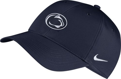 672216f89b4a0 Nike Men s Penn State Nittany Lions Blue Legacy91 Adjustable Hat ...