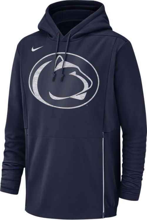 fca8dcb49d9f Nike Men s Penn State Nittany Lions Blue Therma-FIT Pullover Hoodie.  noImageFound. Previous