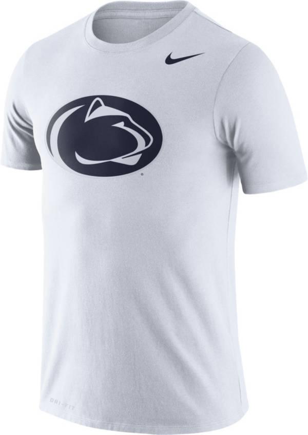 Nike Men's Penn State Nittany Lions Logo Dry Legend White T-Shirt product image