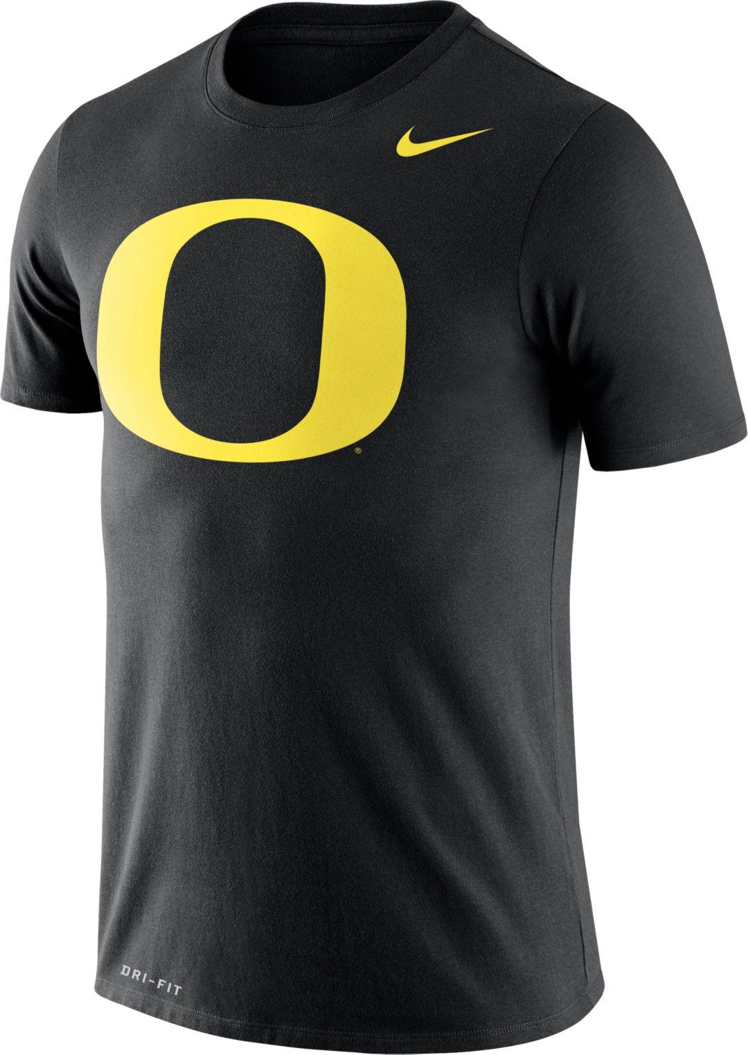 179c0af1 Nike Men's Oregon Ducks Logo Dry Legend Black T-Shirt