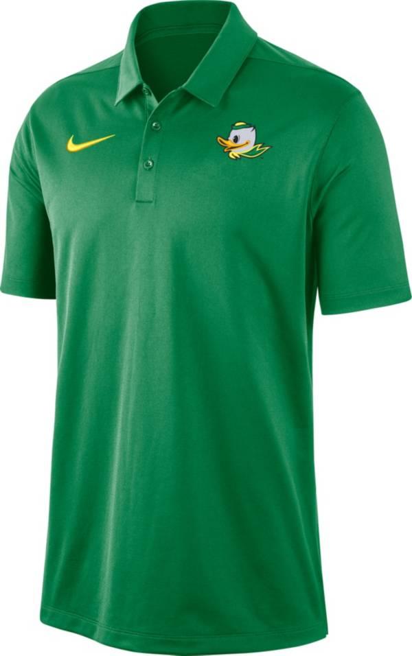 Nike Men's Oregon Ducks Green Dri-FIT Franchise Polo product image
