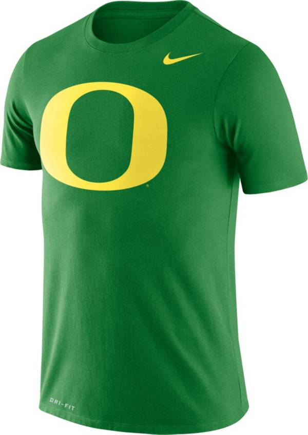 Nike Men's Oregon Ducks Green Logo Dry Legend T-Shirt product image