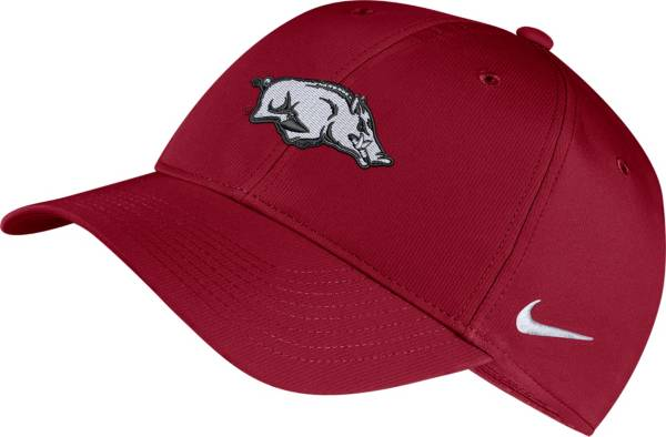 Nike Men's Arkansas Razorbacks Cardinal Legacy91 Adjustable Hat product image