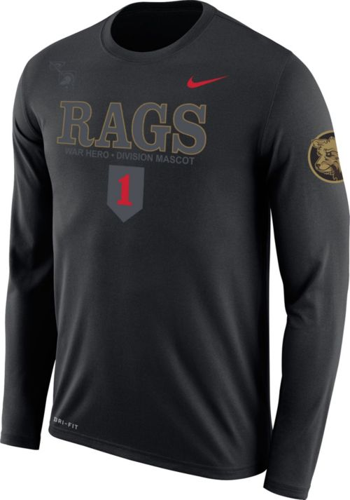 6c871b5775df Nike Men s Army West Point Black Knights Dri-FIT Rival Army Black Long  Sleeve Tee. noImageFound. 1
