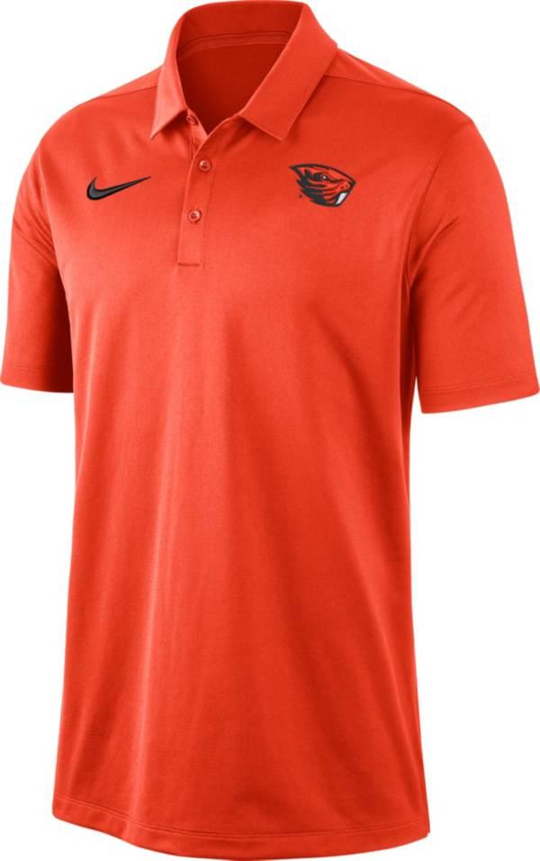 Nike Men's Oregon State Beavers Orange Dri-FIT Franchise Polo product image