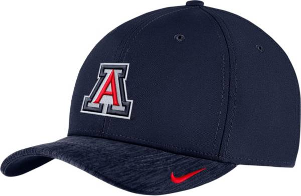 Nike Men's Arizona Wildcats Navy Aerobill Swoosh Flex Classic99 Football Sideline Hat product image