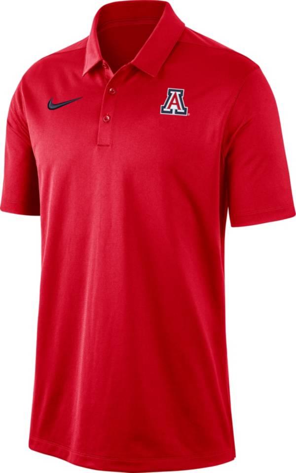 Nike Men's Arizona Wildcats Cardinal Dri-FIT Franchise Polo product image