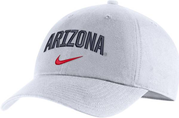 Nike Men's Arizona Wildcats Heritage86 Arch Wordmark White Hat product image