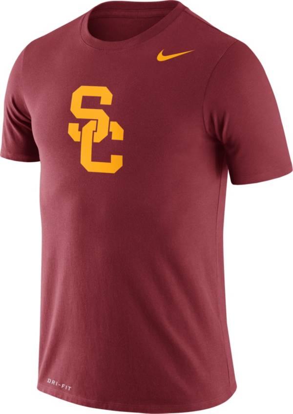 Nike Men's USC Trojans Cardinal Logo Dry Legend T-Shirt product image