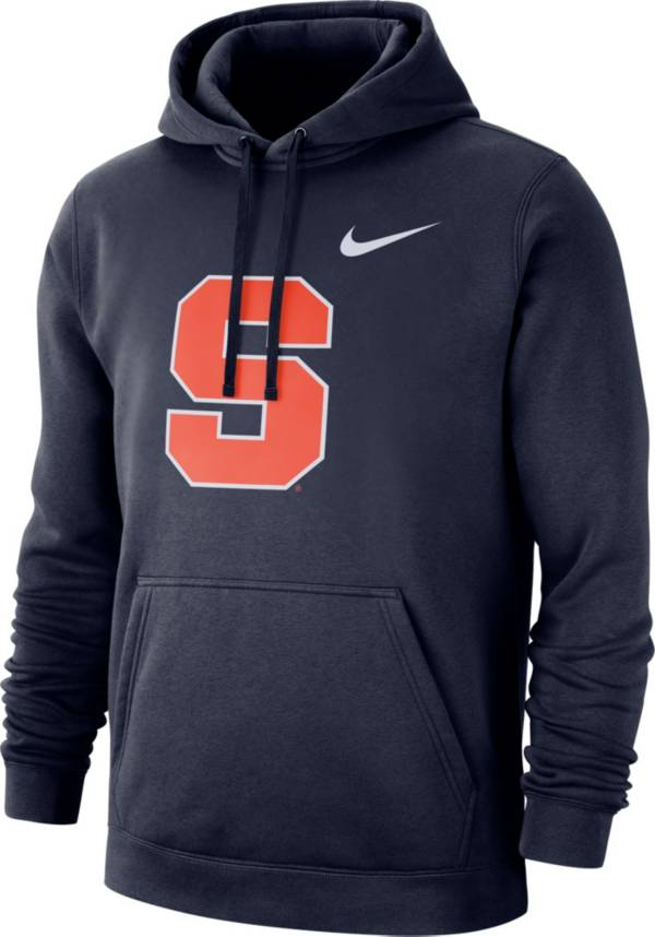 Nike Men's Syracuse Orange Blue Club Fleece Pullover Hoodie product image