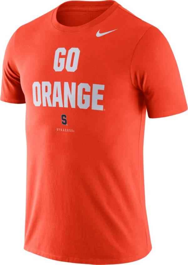 Nike Men's Syracuse Orange Dri-FIT Phrase Orange T-Shirt product image